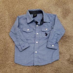 U.S. Polo Assn. Toddler button-up